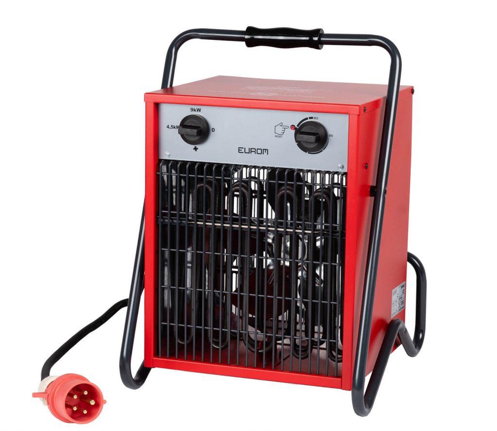 8713415332698 EK9002 elektrische ventilatorkachel industriële verwarming krachtstroom