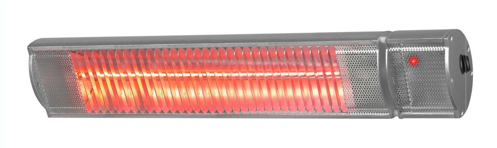 8713415334524 Golden 2200 Comfort RCD elektrische terrasverwarmer halogeen met afstandsbediening