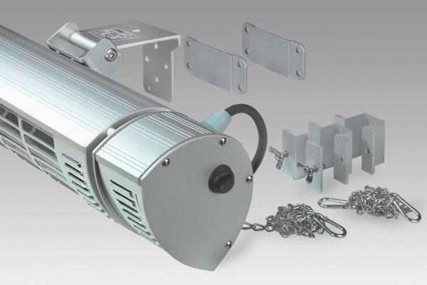 8713415334555 Golden 2500 Ultra RCD krachtige elektrische terrasverwarmer afstandsbediening