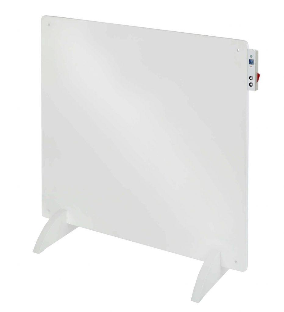 8713415351538 E-Convect LCD in-control elektrische verwarming convector kachel 400 Watt energiezuinig