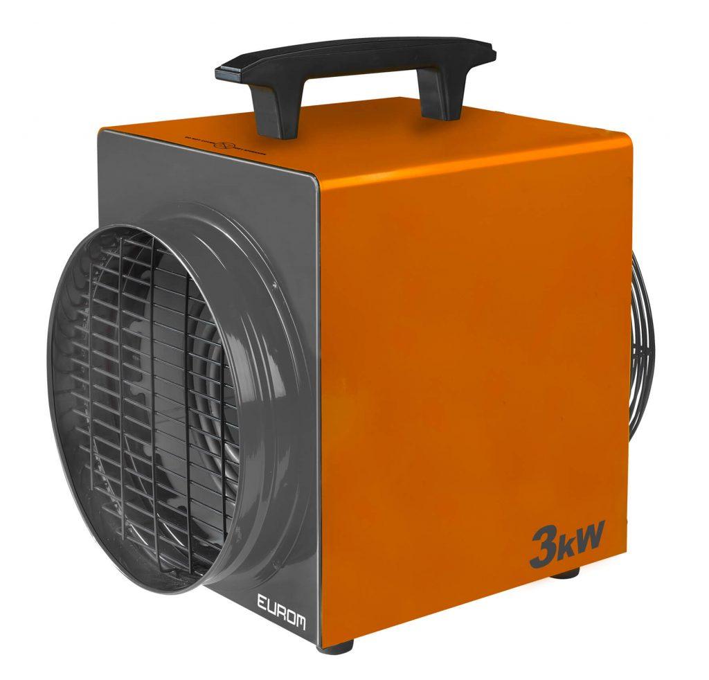 8713415332469 Heat-Duct-Pro 3kW professionele werkplaatskachel industriële verwarming