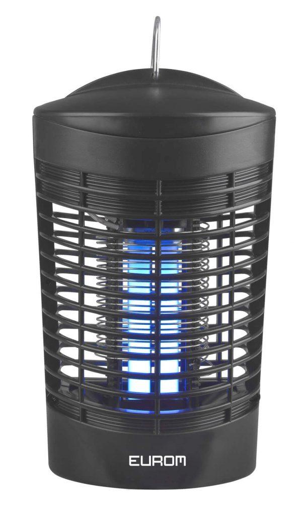 8713415212181 Fly Away 7-Oval elektrische insectendoder 7 Watt UV lamp 1000 Volt hoogspanningsrooster