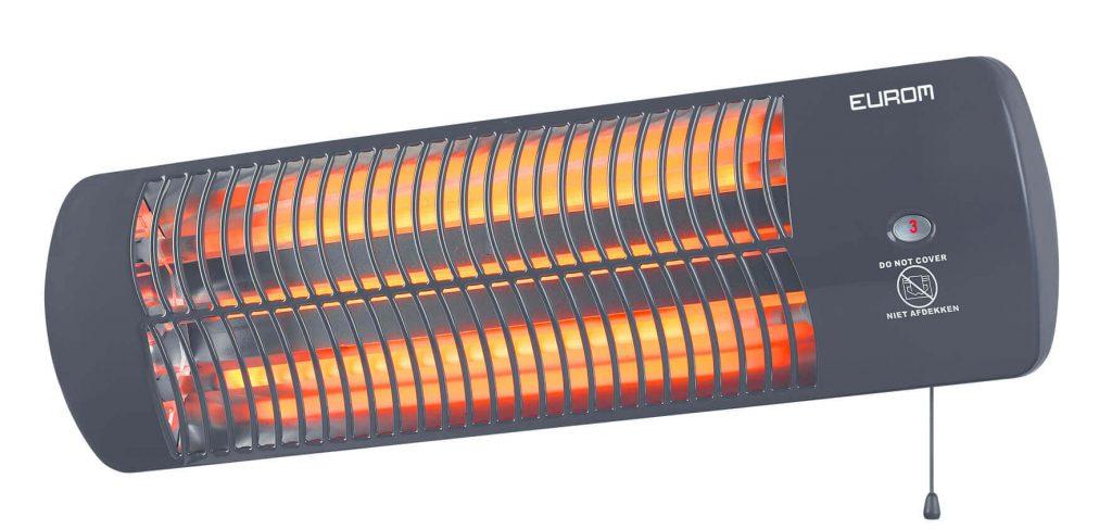 8713415334180 Q-time 1500 elektrische terrasverwarmer kwarts