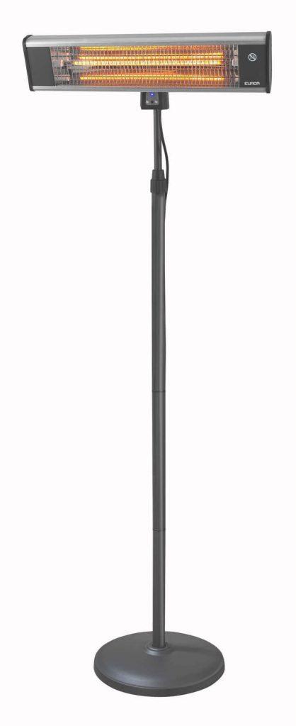 8713415333978 TH1800S elektrische staande terrasverwarmer carbon met afstandsbediening