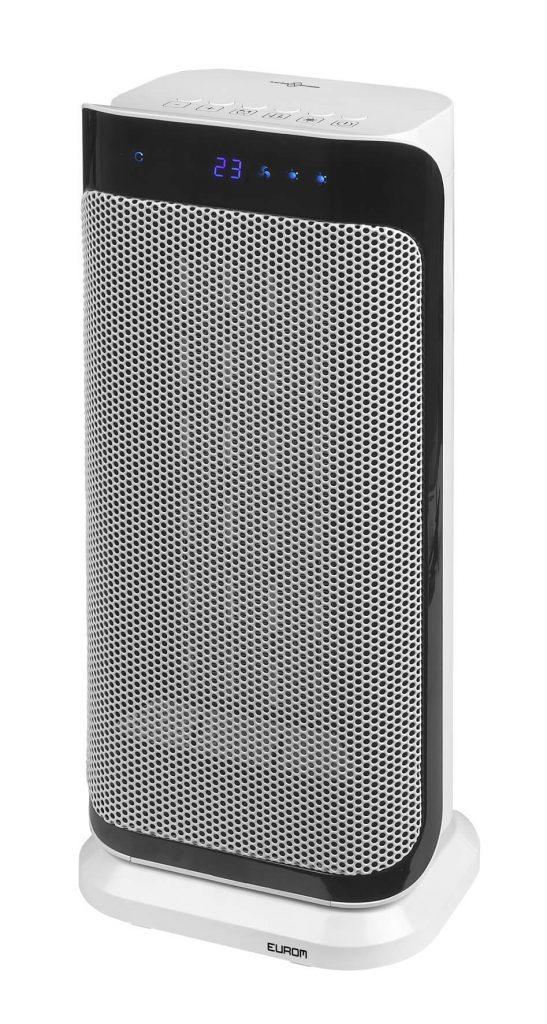 8713415342543 Sub-heat 2000 Watt elektrische verwarming keramische kachel zwenkfunctie draaiend met afstandsbediening
