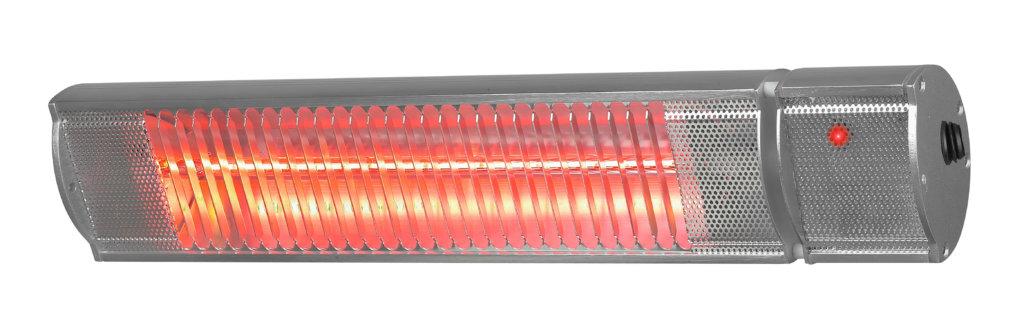8713415333886 Golden 1800 Comfort RC elektrische terrasverwarmer 1800 Watt met afstandsbediening