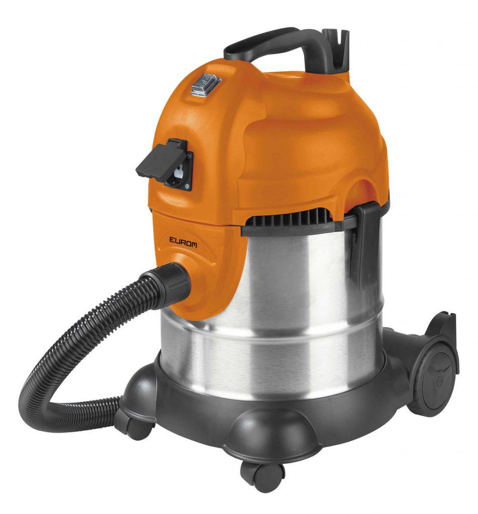 8713415161328 Force 1420s wet/dry stofzuiger waterzuiger alleszuiger 20 liter ketel met aansluiting elektrisch gereedschap