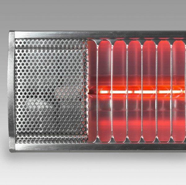8713415333879 Golden 1800 Comfort elektrische terrasverwarmer