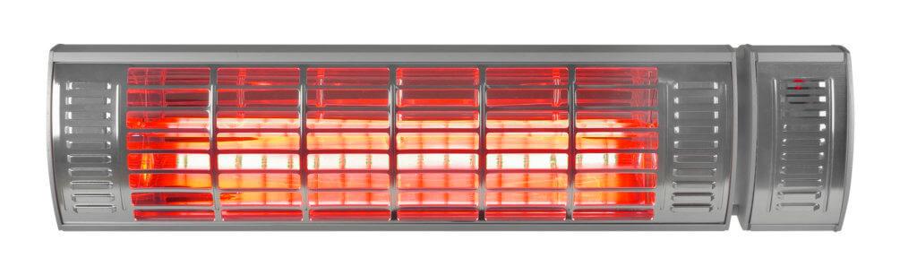 8713415333893 Golden 2000 Ultra RCD elektrische terrasverwarmer met afstandsbediening
