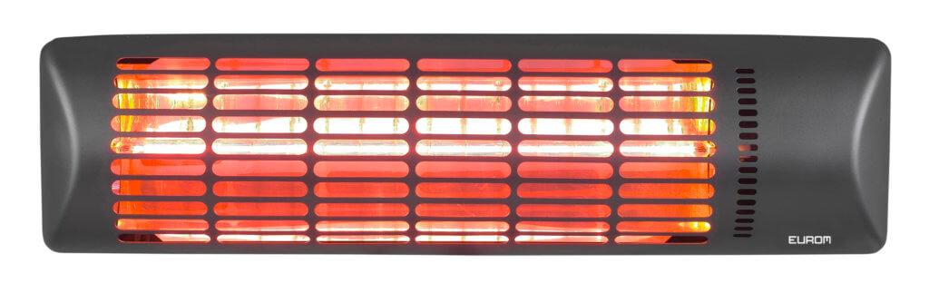 8713415334159 Q-time Golden 1800 elektrische terrasverwarmer muur