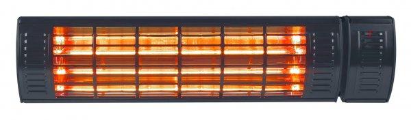 8713415334531 Golden 2000 Ultra Black elektrische terrasverwarmer
