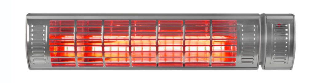 8713415334555 Golden 2500 Ultra RCD elektrische terrasverwarmer met afstandsbediening