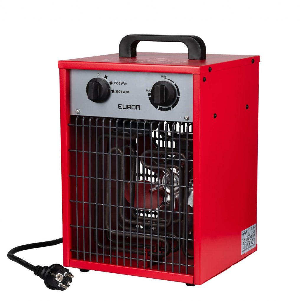 8713415332568 EK3001 elektrische ventilatorkachel industriële verwarming werkplaatskachel 3000 Watt