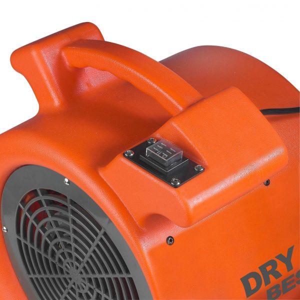 8713415372151 DryBest Fan 400 industriële ventilator luchtontvochtiger