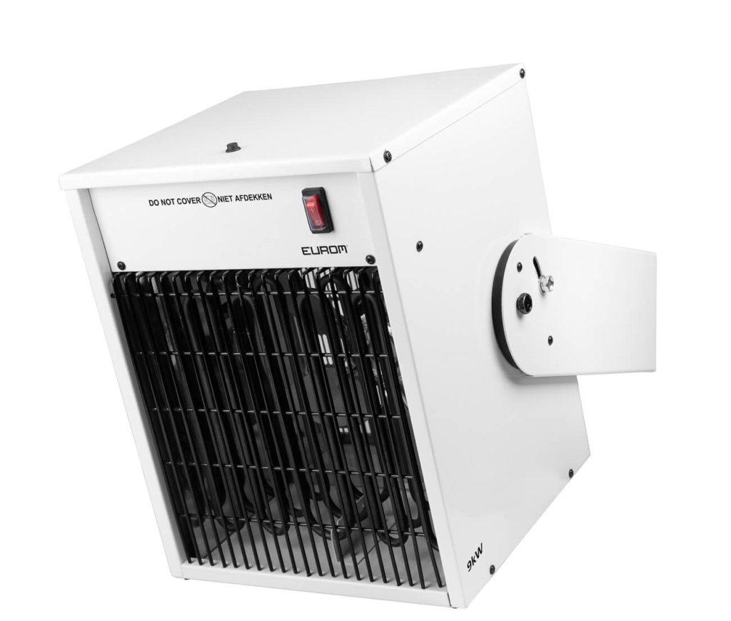 8713415332285 EK9000 Wall elektrische werplaatskachel 9000 Watt wandmontage