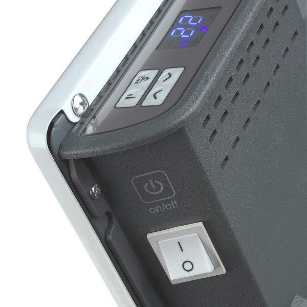 8713415360448 Convector panel de luxe elektrische verwarming convector 2000 Watt staand