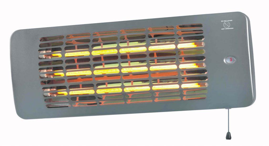 8713415334241 Q-time 2001 chauffe-terrasse électrique 2000 Watt