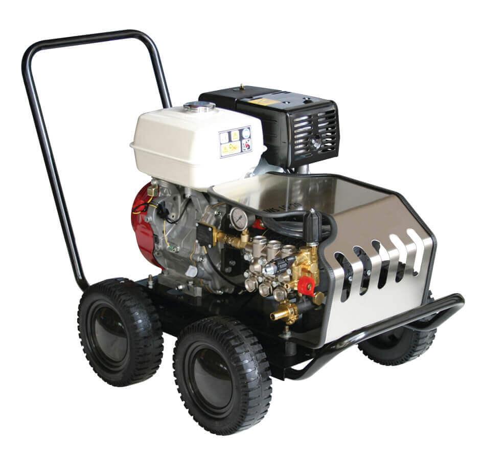 8713415126105 KRB200 professionele hogedrukreiniger benzine 200 bar 15 l/min