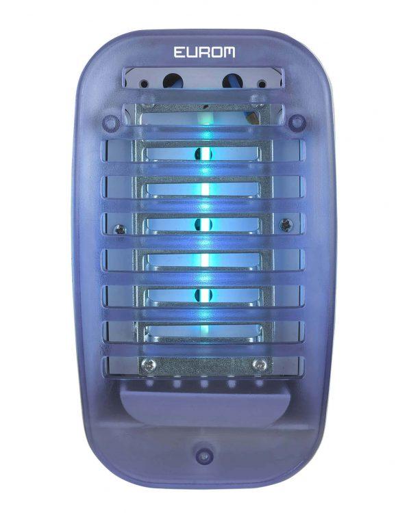 8713415211054 Fly Away Plug-in UV4 compacte insectendoder voor in stopcontact UV lamp 800 Volt hoogspanningsrooster