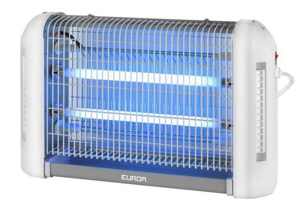 8713415211245 Fly Away 16 Allround elektrische insectendoder 2200 Volt roosterspanning lokstof reservoir
