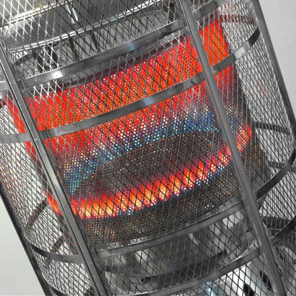 8713415323115 Area Lounge Heater chauffe-terrasse à gaz 13000 Watt