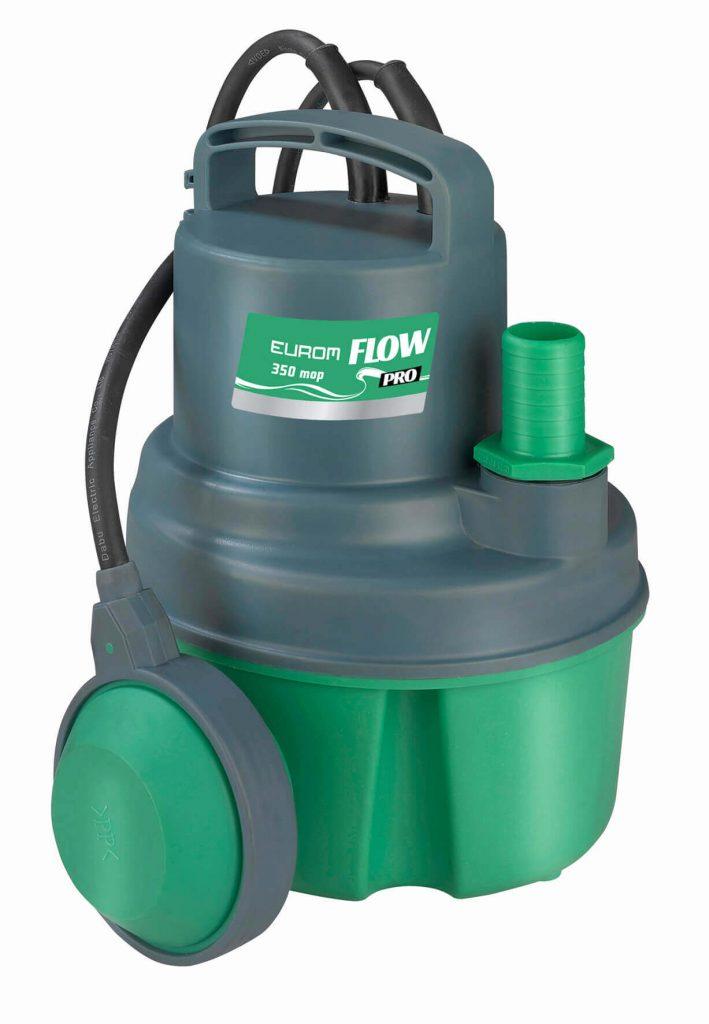 8713415261462 Flow Pro 350 mop Tauchpumpe sauberes Wasser 83 l / min max. 5 Meter tief