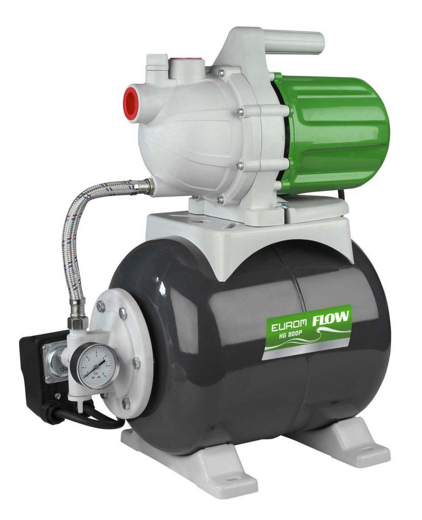 8713415264128 Flow HG800P hydrofoorgroep 53 l/min 19 liter tank