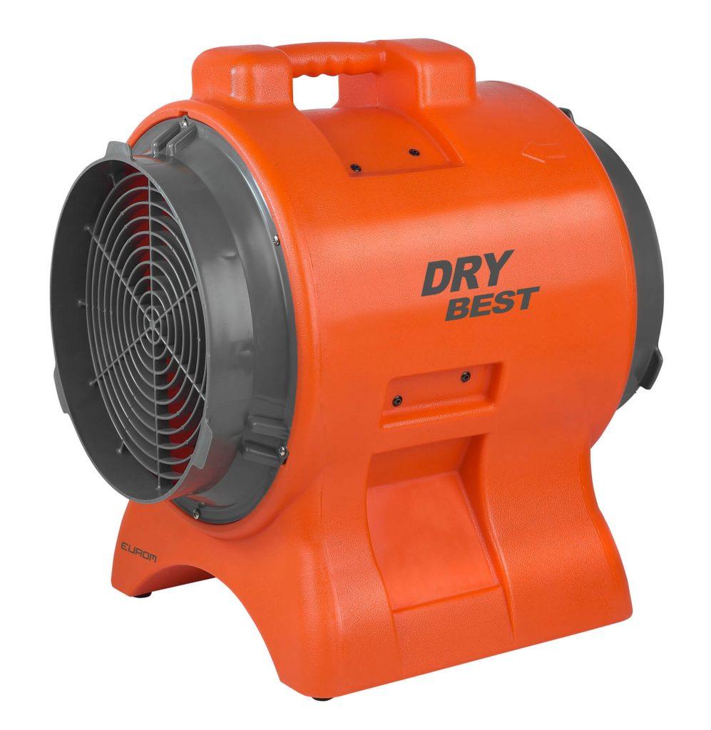 8713415372182 DryBest Fan 750 industriële ventilator luchtontvochtiger