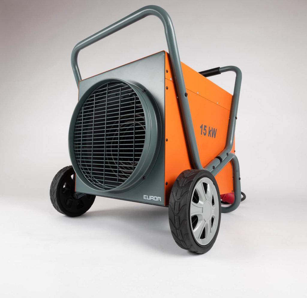 8713415332490 Heat-Duct-Pro 15kW elektrische werkplaatskachel heteluchtblazer