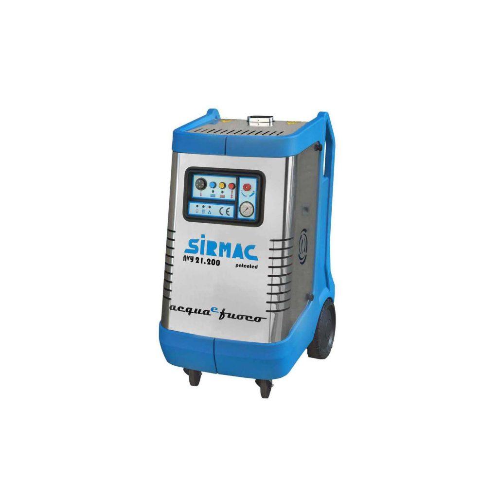 8713415116366 Sirmac NVY15.200 professionele heetwaterreiniger 200 bar 900 l/u