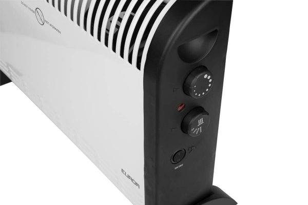 8713415360363 CK2003T elektrische verwarming convector kachel 2000 Watt met turbo