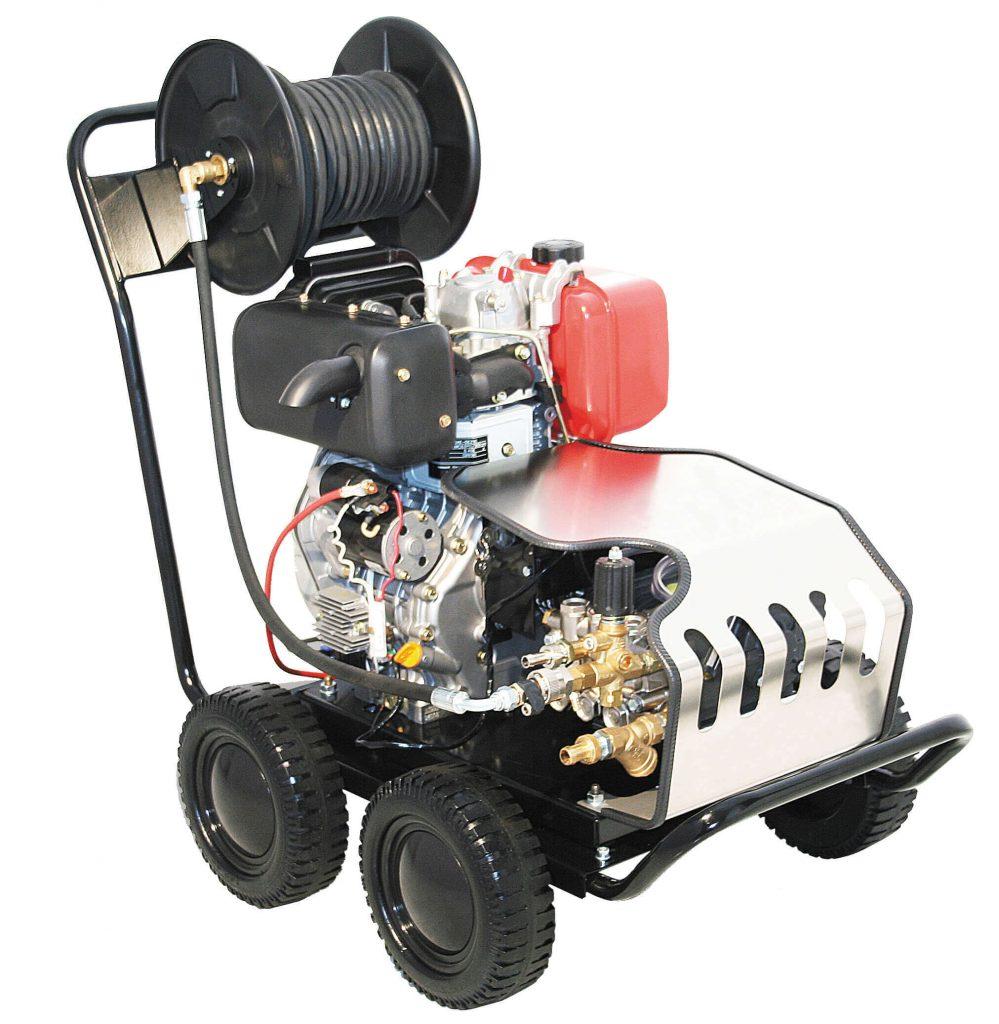 8713415126204 KRD200 professionele hogedrukreiniger diesel 200 bar 15 l/min