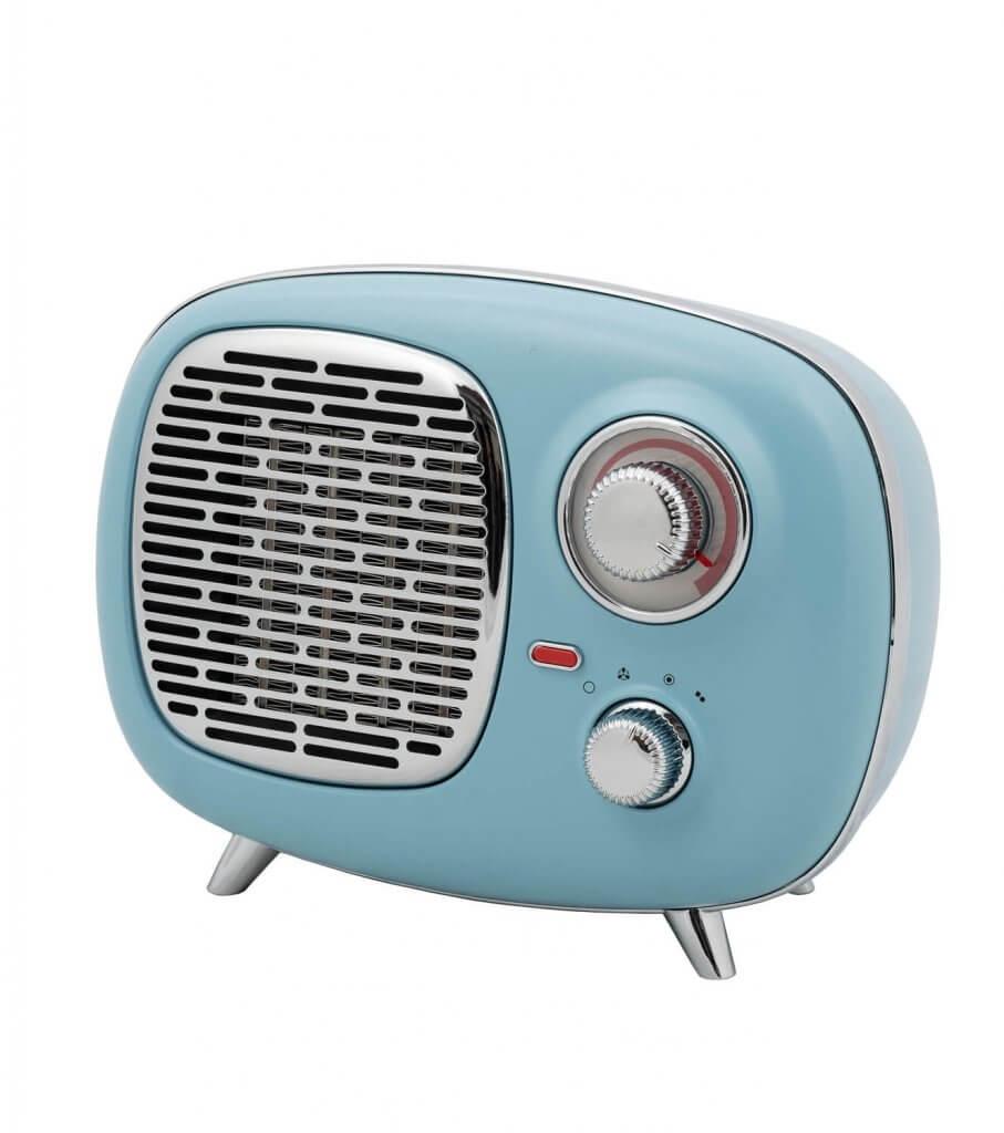 8713415341416 B-4 PTC Heater keramische elektrische kachel verwarming retro look