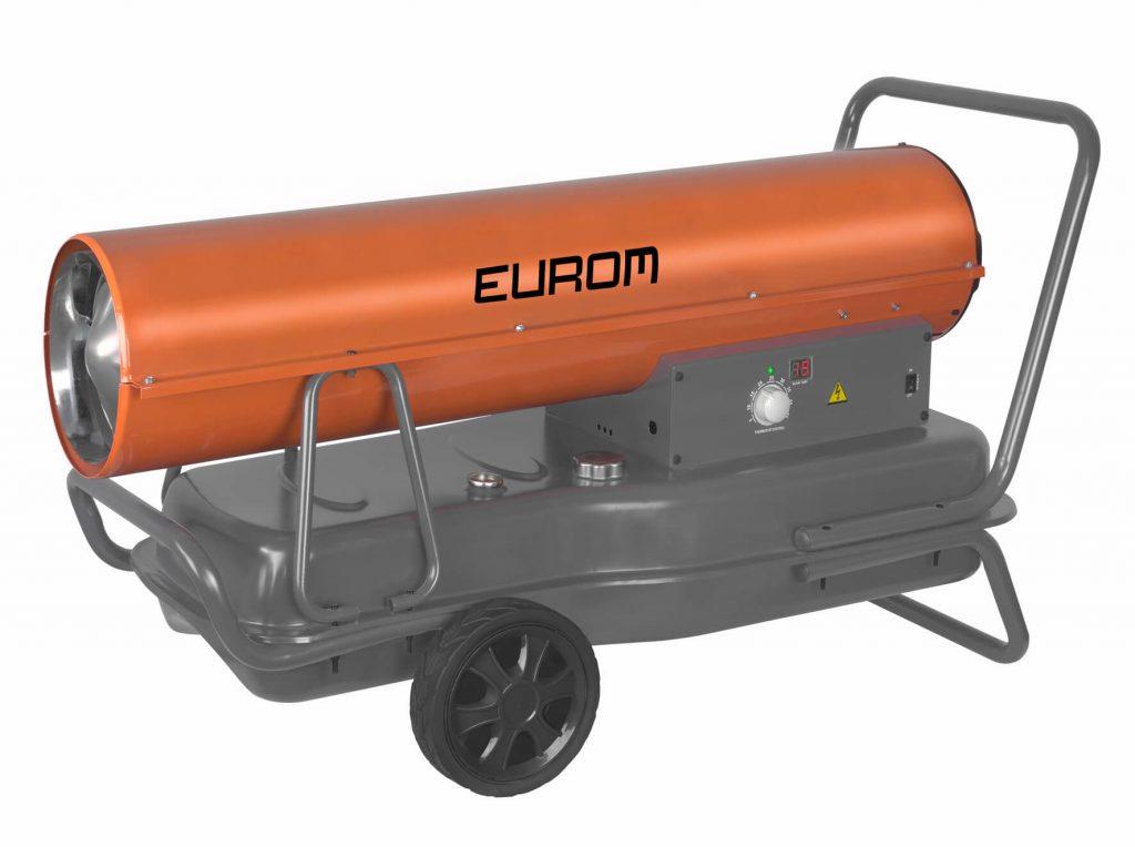 8713415300888 Fireball 60T oliekanon 60 kW diesel petroleum industriële verwarming