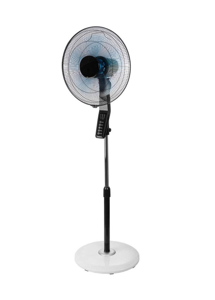 8713415384888 CVT-16S staande ventilator zwenkend met afstandsbediening