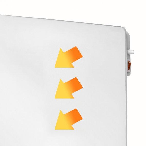 8713415351552 E-Convect Wifi elektrische verwarming convector app bediening schilderbaar