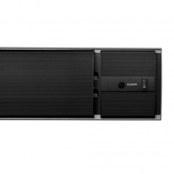 Outdoor heatpanel 2400RC terrasverwarmer zonder licht met afstandsbediening