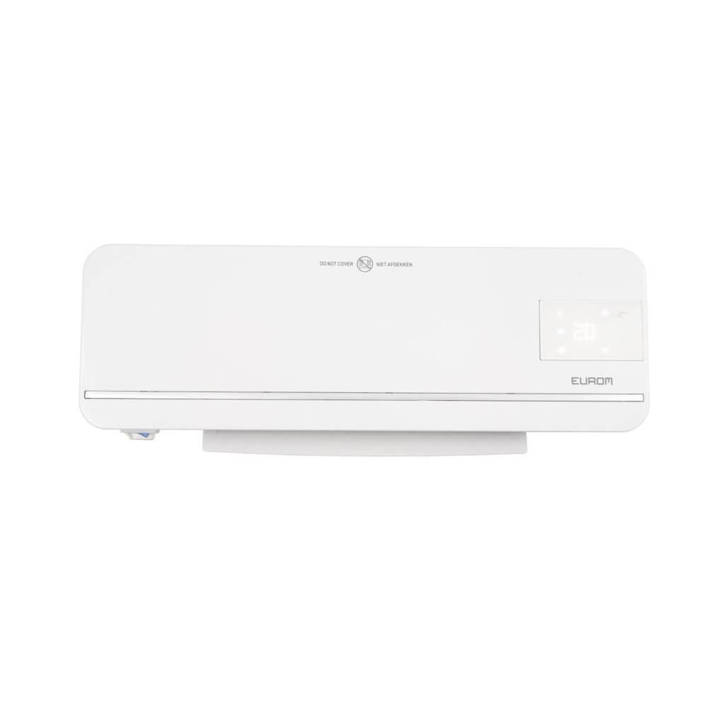 8713415343007 Sani-Wall-Heat 2000 WiFi elektrische verwarming badkamer kachel bediening via app