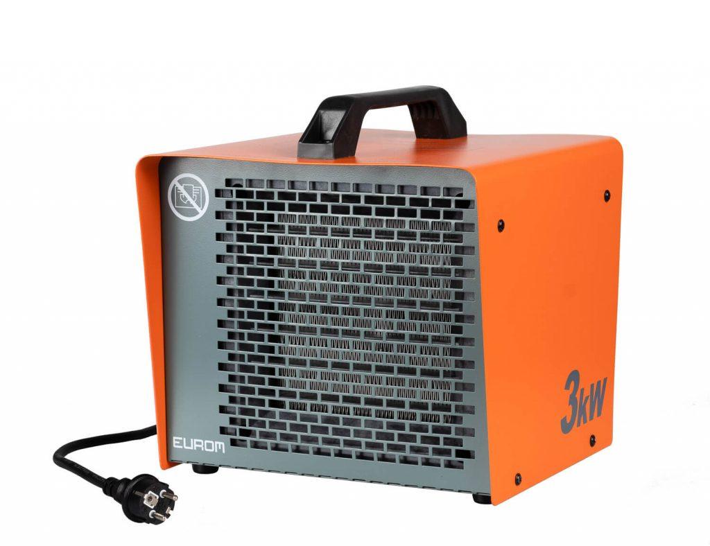 8713415340037 EK3K elektrische werkplaatskachel keramisch industriële verwarming 3000 Watt