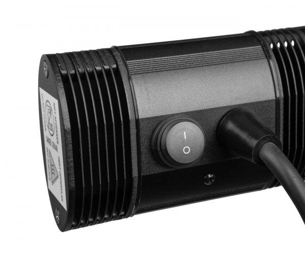 8713415334906 Golden 2000 Slim terrasverwarmer elektrisch horizontaal verticaal
