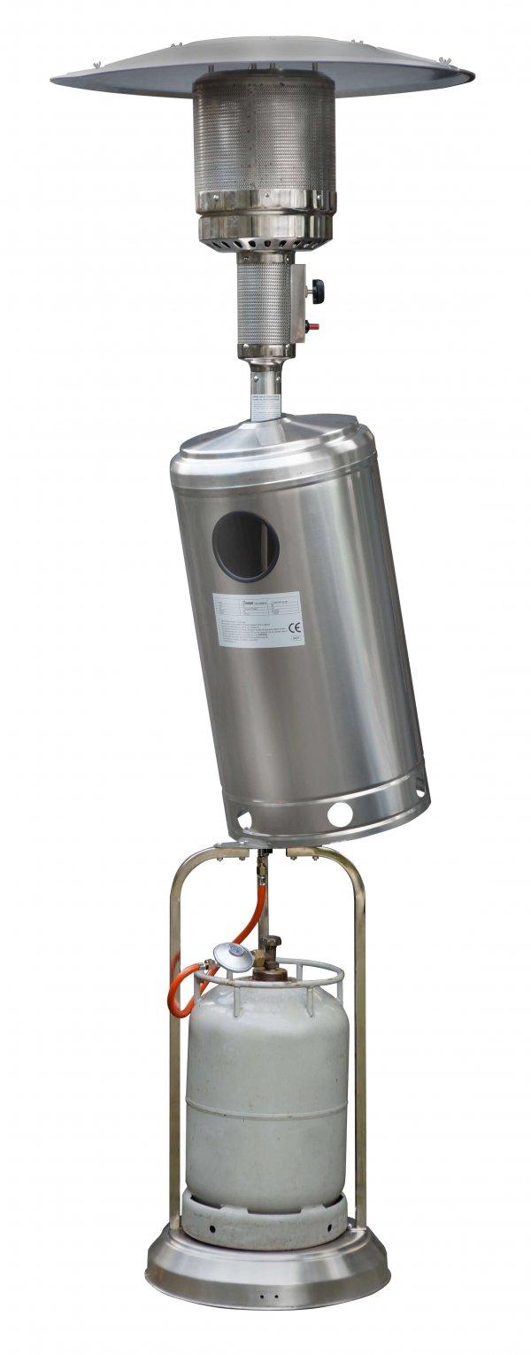 8713415324051 THG 14000 RVS terrasverwarmer op gas