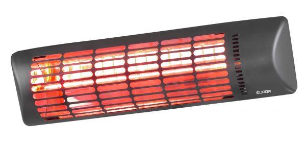 8713415334159 Q-time Golden 1800 electrical terrace heater halogen