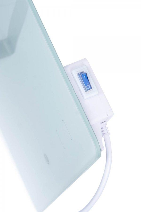 8713415350067 Sani 400 Wifi elektrische infrarood badkamerkachel 400 Watt infrarood verwarming badkamer