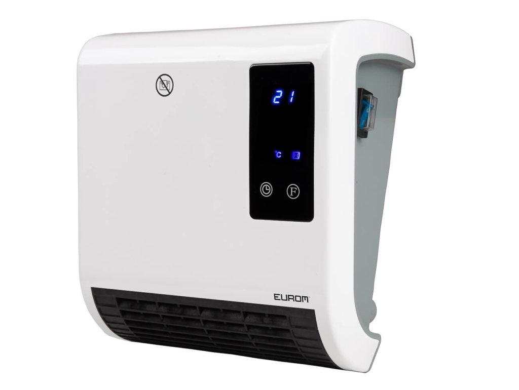 8713415350081 Sani Fanheat 2000R elektrische ventilatorkachel verwarming badkamer met afstandsbediening