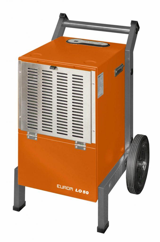 8713415372410 LO50 industriële luchtontvochtiger 50 liter per dag