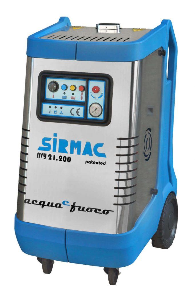 8713415116380 Sirmac NVY18.160 professionele heetwaterreiniger 160 bar 1080 l/u
