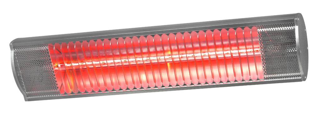 8713415333879 Golden 1800 Comfort elektrische terrasverwarmer 1800 Watt halogeen