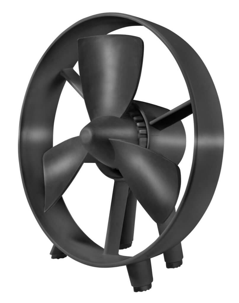 8713415385038 safe-blade fan black veilige staande ventilator draagbaar