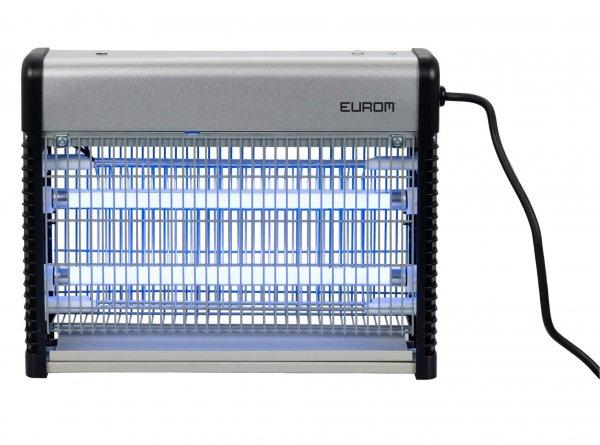 8713415211375 Fly Away Metal 16 LED insectendoder met LED lampen en 2200 Volt hoogspanningsrooster