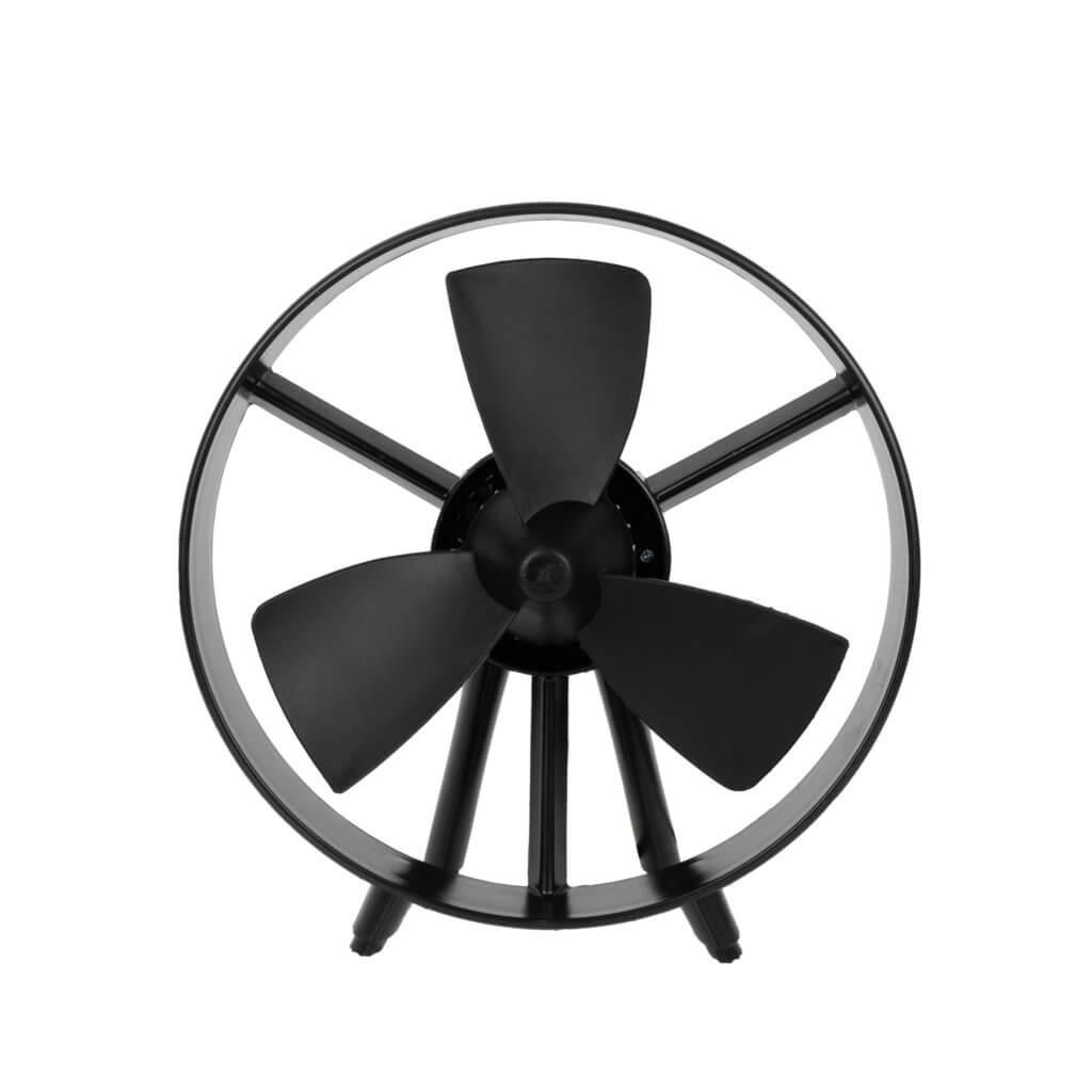 8713415385038 Safe-blade fan black compacte ventilator camping veilig aan te raken
